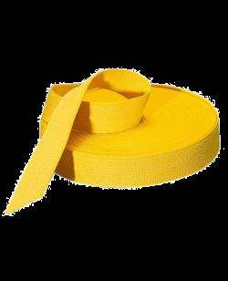 Gürtelrolle 50 m einfärbig gelb