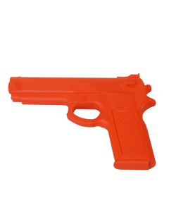 FW Trainingswaffe Gummi Pistole Red Gun rot Self Defense