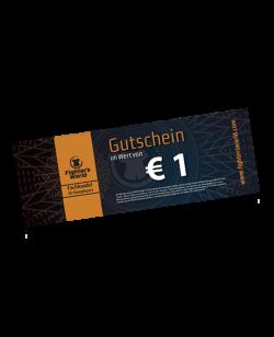 FW GS1 Gutschein EUR 1 - verkaufen