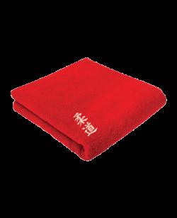 FW Towel Judo Frottee Handtuch rot ca. 50x100cm