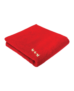 FW Towel Karate Frottee Handtuch rot