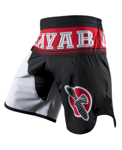 Hayabusa Flex Factor Fight Shorts rot/schwarz