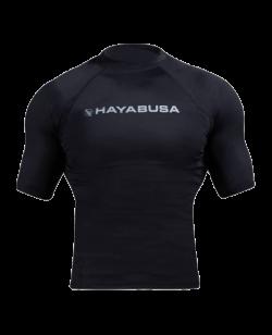 Hayabusa Haburi Rashguard Kurzarm schwarz