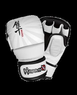 Hayabusa Ikusa 7oz Hybrid MMA Handschuhe weiss