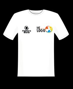 Fighter`s World Sponsoring & Vereins T-Shirt eigener Druck möglich