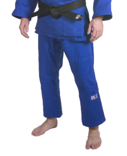 Ippon Fighter Judo Hose Schnürbund blau