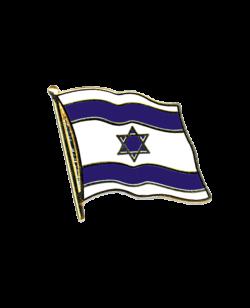 Flaggen-Pin Israel