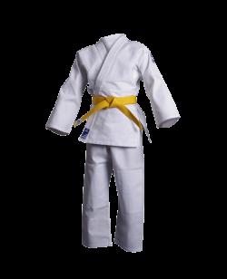adidas J350 Judo Anzug Club 120cm weiß Junior 120cm