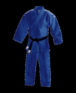 adidas J650B Contest Judo Anzug blau