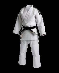 adidas J930 Slim Fit Champion Gi - Judo Anzug weiß IJF