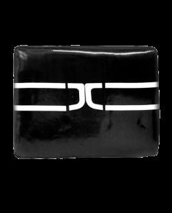 JCALICU Kickschild schwarz  ca. 50x30x9cm JC8003