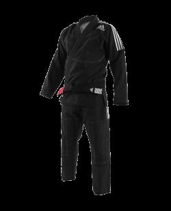 adidas BJJ Contest Brazilian Jiu Jitsu Anzug schwarz JJ430