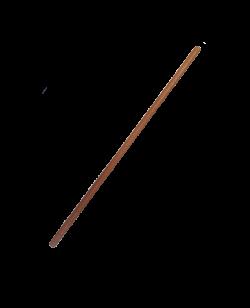 FW JO Roteiche 2,5cm Holzstab braun ca. 96 cm