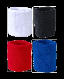 Kampfrichter Armstulpen Frottee Schweißband