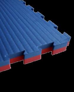 ADX Kampfsportmatte 25mm 1x1m rot/blau Puzzle Wendematte
