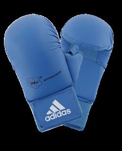 adidas Karate Faustschutz WKF + Daumen blau 661.23 M