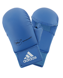 adidas Karate Faustschutz WKF + Daumen, M blau 661.23 M