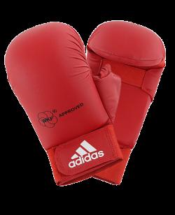 adidas Karate Faustschutz WKF + Daumen rot 661.23 M