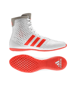 adidas Boxerschuhe KO Legend 16.1 weiß white/solarred AF5533