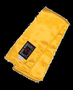 KungFu Schärpe gelb