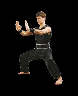Süd Shaolin Kung Fu Wushu Anzug schwarze Satin