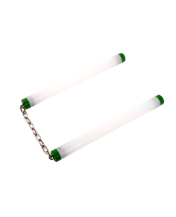 Luminous Nunchaku LED Kette Kunststoff Griff 29cm grün