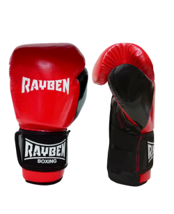 RayBen Boxhandschuhe PU rot/schwarz