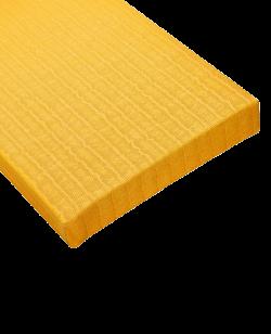 Judo Wettkampfmatte gelb, 40mm
