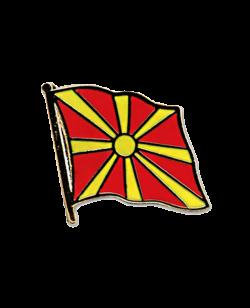 Flaggen-Pin Mazedonien