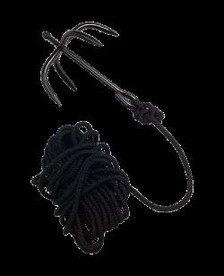 Ninja Wurfanker mit Seil