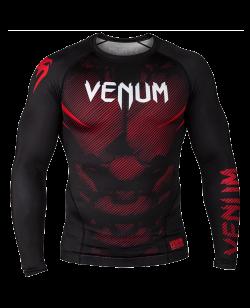Venum NoGi 2.0 Rashguard Langarm schwarz 03595-001