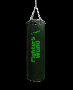 FW Boxsack Outdoor 120 x 40cm grün