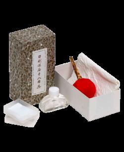 Pflege und Reinigungsset für traditionelle Schwerter Premium orig. Japan