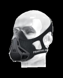 Phantom Trainings Maske schwarz Medium