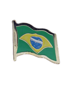 Flaggen-Pin Brazil