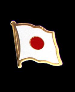 Flaggen-Pin Japan