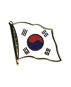 Flaggen-Pin Korea
