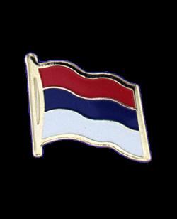 Flaggen-Pin Serbien