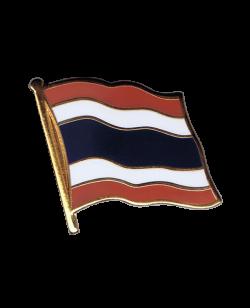 Flaggen-Pin Thailand