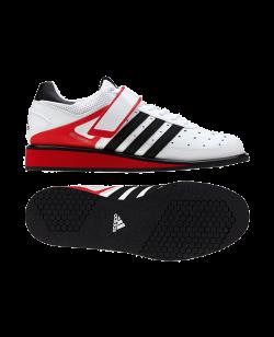 adidas Power Perfect 2 Gewichtheber Schuhe weiß/rot/schwarz G17563
