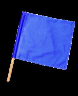 Kampfrichter Flagge blau 1Stk Fahne für Punkterichter