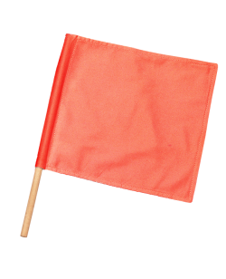 Kampfrichter Flagge rot 1Stk Fahne für Punkterichter