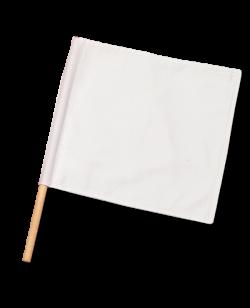 Kampfrichter Flagge weiß 1Stk Fahne für Punkterichter