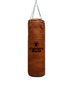 Fighter`s World Boxsack Queensberry Original Leder