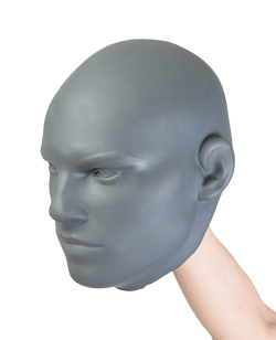 Rayben Realistic Head Target Handpratze in Kopfform Human Face #10