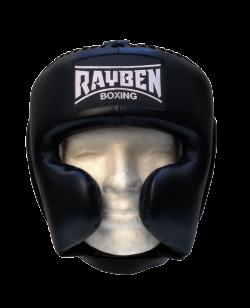 RayBen Kopfschutz Leder schwarz