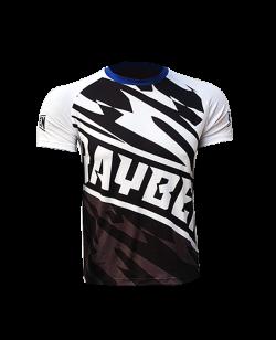 Rayben Zero T-shirt Kurzarm weiss/blau