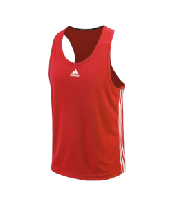 adidas Boxing Top Punch Line rot weiss ADIBTT02