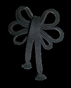 FW Sageo lang Cotton schwarz 8 Shaku ca. 242cm