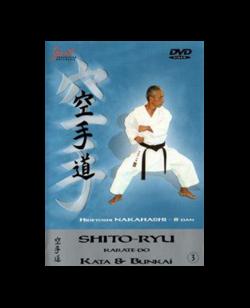 DVD, Shitoryu Kata & Bunkai Vol.3, Multimedia